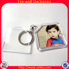 Promotional Clear Custom Blank Souvenir Acrylic Photo Frame Keychain Picture Insert Wholesale Company Promotion Gift
