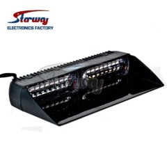 Starway Police Emergency Vehice LED Dash Deck light with 18 LEDs