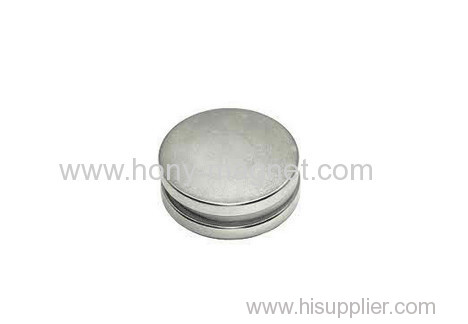 Permanent axially magnetized N35 Sintered neodymium magnet disc