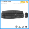2.4g wireless rf keyboard and mouse