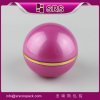 Small Nail Polish Container And Screw Top Plastic Cream 50g Cosmetic Fashion Acrylic Ball Shape Matte Bl
