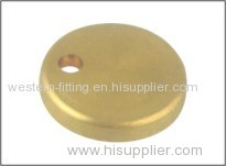 Brass Cover Plain Brass Surface