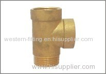 Brass Pump 3-way Connector