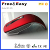 folding wireless optical surface mouse
