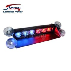 Starway Police Emergency Vehicle LED Dash Deck light with 6 x1 W LED module
