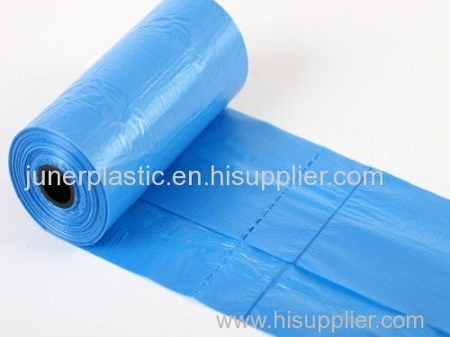 customized plastic garbage bags on roll