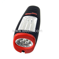 30 + 7LED light aftermarket lights work lights repair lights can be used as a flashlight containing hook with magnet