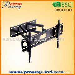 Dual Arm Swiveling Tilting Telescoping tv bracket for Plasma LCD LED TVs