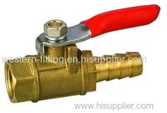 Brass Mini Ball Valve with Tailer Union