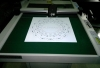 Sticker sample maker cutting machine