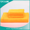 solid color 100%cotton terry bath towel