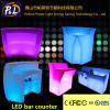 LED Straight Bar Counter Round Bar Counter