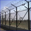 Factory hot dipped galvanized or pvc coated 358 security fence prison mesh