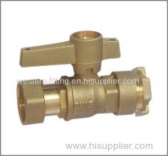 Brass Ball Valve Reduced Bore South America Popular Model