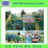 Spinning roller coaster for sale for amusement park amusements equipment
