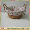 Natural Willow gift Basket wicker basket for flowers willow flower girl basket
