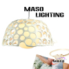 LED power saving Bedroom Resin pendant lights indoor energy save lamp MS P1016