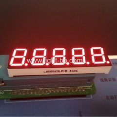"Super Red 0.56"" 5 Digit 7 segment led display common cathode for Digital weighing scale Indicator"