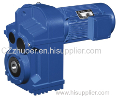 Parallel Shaft Helical Gear Reducer Gearbox Speed Reducer For Transmission