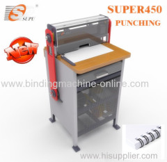 New 2 in 1 punching and binding machine for copy center