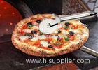 Kitchenware Plastic Pizza Cutter Wheel Stainless Steel Pizza Knife Tool 154g
