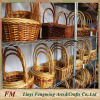 Handmade oval wicker christmas gift basket empty wicker gift baskets
