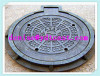 Round manhole cover cast iron sewer cover drain cover EN124