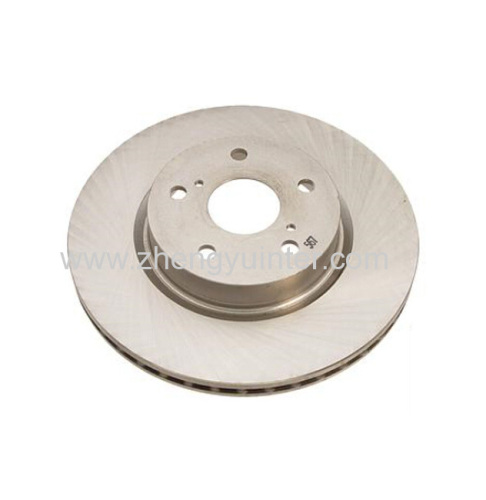 Grey iron brake disc casting parts for AUDI