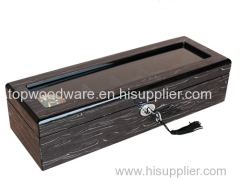 High gloss finish Wooden watches display boxes