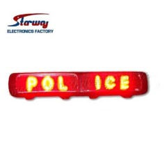 Police Vehicle LED Display Warning Lightbar