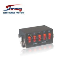 Emergency Vehicle Light Switch Box Manufacturer