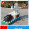 Vertical biomass pellet machine