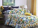 Sunflower Summer Use Floral Bedding Sets , Luxury Home Bedding