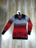 Women's Autumn Knitted V neck Sweaters