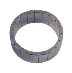 High Power 50 mm Curved Arc Micro Permanent Sintered Neodymium Magnet