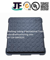 Hot Sale Cast Iron En124 Manhole Cover in Resin Casting