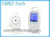 digital wireless baby monitor Temperature display and lullaby