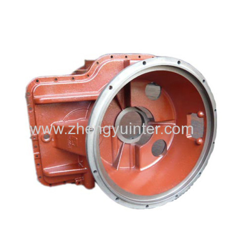 Ductile Iron Gearbox Body Casting Parts