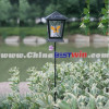 Solar Stake Lantern Light With Butterfly