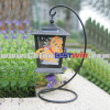 Solar Hanging Lantern Light With Butterfly