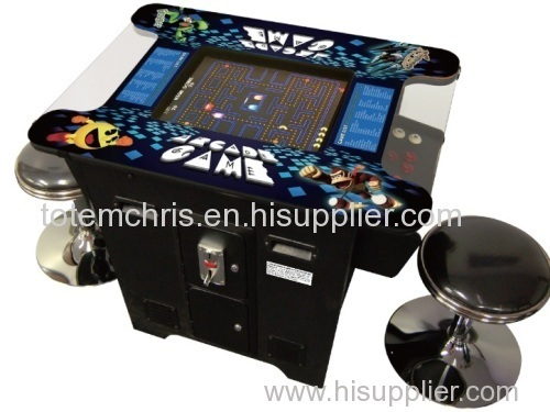 19'' Hot selling Christmas 60in1 Retro Flat Arcade Game Machine Pacman