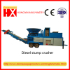 Diesel engine Mobile stump crusher