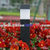 Plastic Solar Garden Light Cube pillar