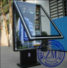 Scrolling Advertising Light Box Outdoor Scrolling Light Box