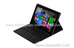 Manufacturer goods Wireless Touchpad Bluetooth Keyboard Tablet Case Cover for Microsoft Surface 3