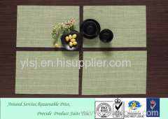 Japanese style Special Fast food Vinyl Eco-friendly Placemat&easy clean table mat