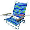 Comfortable beach lounge chair