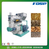 Straw pellet mill for making fuel pellets