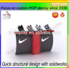 2015 hot sell customized branded shoe advertising display stand and booth