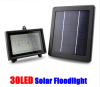 Solar Powered 30LED Light Power Spotlight Garden Lawn Lamp Waterproof Flood Light